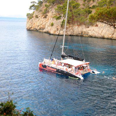 Catamaran Trips Robinson Boat