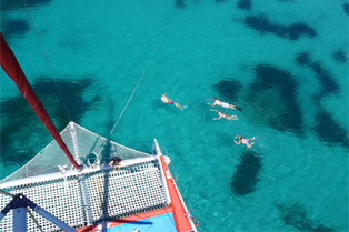 Catamaran Trip Robinson Boat